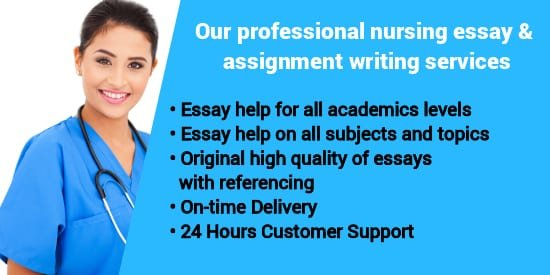 nursing essay writers